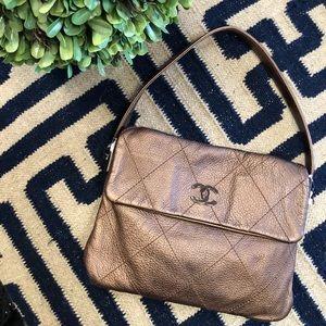 Chanel Vintage Bronze Bag